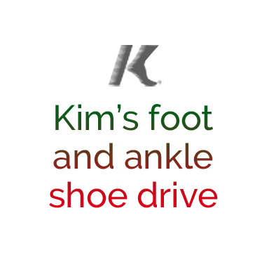 Kim's Foot and Ankle Shoe Drive